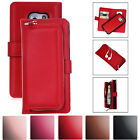PU Leather Magnetic Detachable Card Wallet Case For Samsung Galaxy S8 / S8 Plus