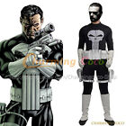 The Punisher Frank Castle Cosplay Costume Fancy Dress Uniform Jumpsuit Amazing