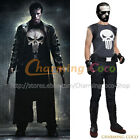 The Punisher And Punisher Frank Castle Cosplay Costume Full Set Outfit Halloween