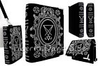 Restyle Lucifer Sigil Book Pentagram Black Velvet Nu Goth Occult Shoulder Bag