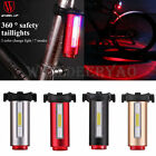 WHEEL UP Cycling Bike USB Rechargeable LED Bicycle Rear Tail Light Night Lamp
