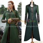 The Hobbit The Desolation of Smaug Elf Tauriel Cosplay Costume Halloween Outfit