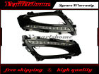 KSpeed 12-LED Daytime Running Light DRL Lamps For 2011-13 Kia Optima K5 w/ Bezel