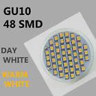 Energy Saving LED GU10 5W 48 SMD Spot Light High Power Bulb Day Warm White CE