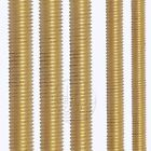 M12 M14 M16 Fine Threaded Solid Brass Rod Screws Bolts Select 80mm to 500mm