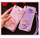 Glitter Quicksand Liquid Case Cover+Lanyard +Sticker For Oppo F1s / F1F/ F1 Plus