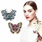 Charm Butterfly Enamel Silver Brooch Pins Wedding Bridal Prom Jewelry Gift Party