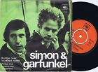SIMON & GARFUNKEL Brigde Over Trouble Water Norwegian 45PS 1970