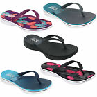 Skechers H2 Goga Womens Flip Flops Sandals Memory Foam Toe Post Beach Slides