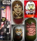 Star Wars Mighty Beanz 4-Pack MOC Jabba Hut BATTLE DROID JAWA Obi-wan LIGHTSABER