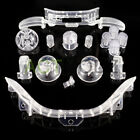 Transparent Design Full Set Kit ABXY Dpad Guide Buttons for Xbox 360 Controller