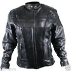 Xelement B7960 Womens Vented Premium Cowhide Leather Scooter-Motorcycle Jacket