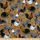 Quilted Toaster Cover Roosters Made to order SEND YOUR MEASUREMENTS!!