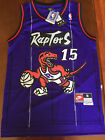 Vince Carter #15 Toronto Raptors Swingman Basketball Jersey Men's Purple NWT