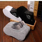 3 Pairs Women/Men Invisible Low Cut Cotton Boat Non-Slip Loafer No Show Socks