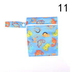 Baby Infant Waterproof Reusable Zip Wet Dry Bag Diaper Nappy Pouch Pocket Bag TS