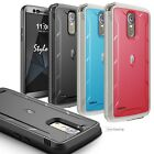 For LG Stylo 3 Poetic Revolution Series Case With Built-In Screen Protector 3CLR