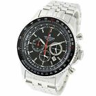 LAD WEATHER Japan Pilot Chronograph Movement Small Seconds Men's Watch offcial