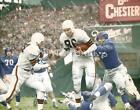 DA73 Dub Jones Cleveland Browns 1951 Sweep 8x10 11x14 Colorized Photo