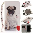 Внешний вид - Wallet Lanyard Cards PU Leather Stand Back Case Cover For iPhone/Samsung/Huawei