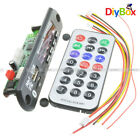 MP3 Decoder Board USB/TF/ Reader IR Remote Bluetooth/FM Car Audio Board Module