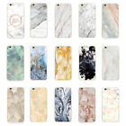 Ultra Thin Shockproof  Marble Stone Granite Rock Soft TPU Case Cover For iPhone