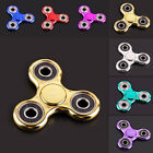 Metal Tri Figet Hand Spinner Finger Triangle EDC Alloy Focus Autism ADHD Toys