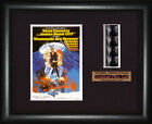 BOND 007  Diamonds are Forever    Sean Connery   FRAMED MOVIE FILMCELLS