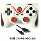 NEW BLUETOOTH WIRELESS GAMEPAD CONTROLLER JOYSTICK REMOTE FOR PLAYSTATION 3 PS3 <br/> FREE CHARGING CABLE + SAMEDAY POST,UK SELLER + WARRANTY