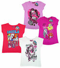 Girls Monster High Ghoulfriends Pack of 2 T-Shirts 10-12 Years SALE