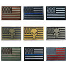 TACVASEN Tactical Embroidered Shoulder Patches US American F