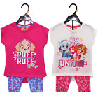 Girls Paw Patrol Summer Legging & Top Set Ages 3,4,5,6 Years NEW with tags