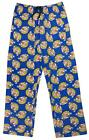 Mens Bullseye Darts Bully Cotton Lounge Pants Pyjama Bottoms Blue S M L XL