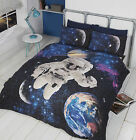 Rapport Home - Duvet Cover Set with Glow in the Dark Stars - Spaceman Astronaut
