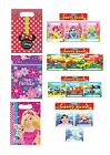 Children's Girls Boys Birthday Party Bags Loot Bags Gift Bags Choose Design