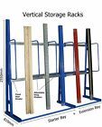 Long Item Upright Vertical Storage Racking Racks Stockroom, Workshop, Warehouse