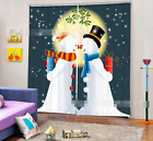 3D Snow View 22 Blockout Photo Curtain Printing Curtains Drapes Fabric Window AU