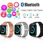 Bluetooth Smart Watch Phone Z60 Smartwatch Stainless Steel for IOS Android