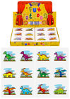 Childrens 36 or 72 Dinosaur temporary tattoos party bag stocking fillers toys