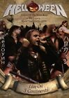 Live On 3 Continents [DE-Version, Regio 2/B] - Helloween DVD (4) NEU