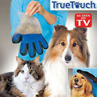 Pet Cleaning Brush Magic Glove Cat Dog Hair Massage Grooming Groomer Silicone CA