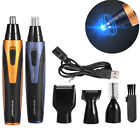 4 In 1 Men's Rechargable Ear Nose Trimmer Electric Shaver Beard Hair Removal