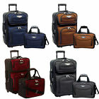 Travel Select Amsterdam Two Piece Pinch-On Luggage Set: Choose Color