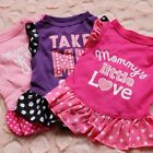 Pet Princess Clothes Puppy Bow Vest T Shirt Coat Dress Apparel For Small Dog Cat