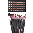Eyeshadow Palette Makeup 40 Color Cream Eye Shadow Matte Shimmer Set Cosmetic