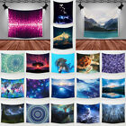 Starry & Landscape Polyester Tapestry Hanging Wall Sticker  Home Decor