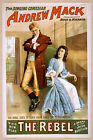 Photo Print Vintage Poster: Stage Theatre Flyer Andrew Mack The Rebel 01 1