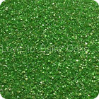 EDIBLE GREEN SPARKLING GLITTER SUGAR CRYSTALS Cupcake Cake Sprinkles 25g - 500g