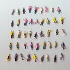 1:200 Scale Architectural Painted Mixed Model Figures People : Packs of 50/100