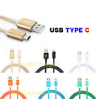 For LG 5 V20 USB Type C 3.1 Nylon Braided Charging Cable